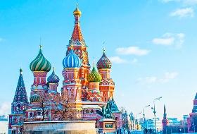 【品游俄罗斯】江西到俄罗斯旅游8日游 长沙直航(红场、滴血大教堂、克里姆林宫)