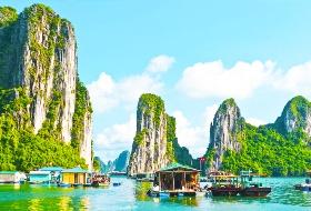 南昌到北海海滩公园、越南、月亮湖、天堂岛、迷宫仙境,河内双飞7天