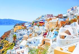 希腊+法国10天 宠爱圣托里尼岛  塞纳河游船晚宴  精选星级酒店