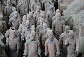 慢长安 南昌到西安旅游 双卧5日游(兵马俑、华清宫、明城墙)