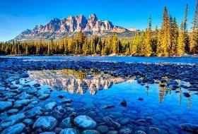不一样加拿大深入加国腹地、落基山国家公园温泉美景10日游(温哥华、班夫小镇、落基山小镇) 江西到加拿大旅游