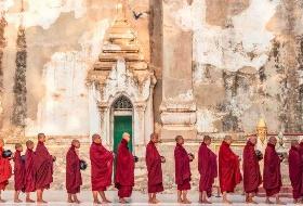传奇缅甸   江西到缅甸旅游5晚6日游(瑞喜贡塔、曼德勒皇宫、阿南达寺),